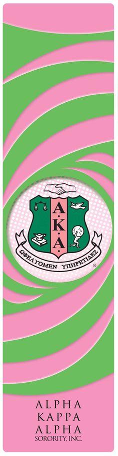 Alpha Kappa Alpha Sorority, Inc. bookmark
