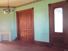 1845 – Dexter, NY – $41,500 | Old House Dreams Victorian Style Homes, Old House Dreams, Open Kitchen, Dexter, Victorian Fashion, Old Houses, Floor Plans, Interiors, Flooring
