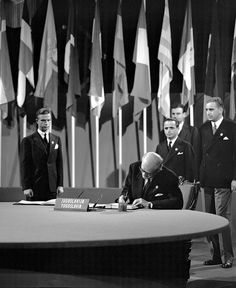 The San Francisco Conference, 25 April - 26 June 1945: Yugoslavia Signs the United Nations Charter by United Nations Photo, via Flickr
