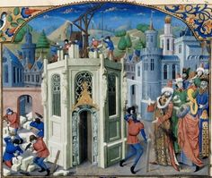 Medieval Historiography: 'History of the Two Cities' by Otto of Freising Medieval Life, Medieval Art, Renaissance Art, Medieval Manuscript, Illuminated Manuscript, Kingdom Of Jerusalem, Medieval Paintings, Early Middle Ages, The Cloisters
