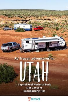 Week 23 of our USA road trip had us experience one of our best adventures yet in Utah. See the blog for the highlights including the Burr Trail Scenic Drive in Capitol Reef National Park and the slot canyons near Escalante. Best hiking that is fun with kids, beautiful canyon photography, places to stay while RVing including boondocking sites, and more! Plus all our tips, RV lessons and road trip costs from the road.  #Utah #RVtravel #RVlife #RVliving #Rving #familytravel #roadtrip #roadtrips
