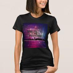 Woman's Tee - Beauty In The Breakdown CityScape - beautiful gift idea present diy cyo
