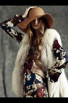 Bohemian Winter Style On Pinterest Bohemian Winter Fashion Winter Hippie And Outside Lands