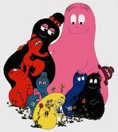 Barbapapas! Saturday morning cartoons :)