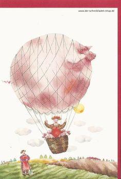 """mit so viel """"Schwein"""" kann man nur Glück haben..  :) #FranzösischeKünstlerkarte von #EditionMonier #Glückwunschkarte #Papeterie #Nürnberg #Schreibwaren    Der Schreibladen, Schreibwaren & Lotto-Annahmestelle – Google+"""