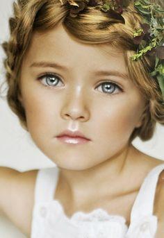 Russian child model Kristina Pimenova.