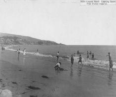 An early seaplane landing on the ocean at Newport Beach Laguna Beach, Newport Beach, Maine, Nostalgia, Ocean, History, Digital, Historia, The Ocean