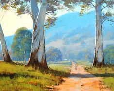 Graham Gercken Paintings for Sale Watercolor Landscape, Landscape Art, Landscape Paintings, Watercolour, Australian Painting, Australian Art, Animal Paintings, Paintings For Sale, Fine Art Amerika