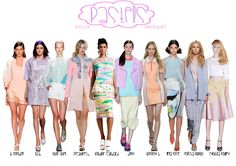 NYFW SS14 Trend Report : Pastels