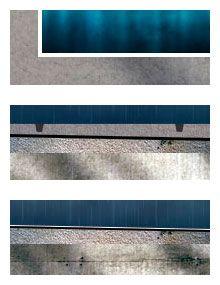 Classificação dos sistemas conforme a necessidade de acabamento (de cima para baixo): 1 - Que dispensam proteção mecânica (Ex: Manta PVC / TPO em Reservatório). 2 - Que exigem proteção mecânica (Ex: Emulsão Asfáltica em Cozinha e Banheiros). 3 - Autoprotegidos (Ex: Manta Asfáltica Aluminizada em Telhado).