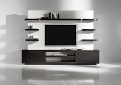 Yuman Mod Vision 1 Entertainment Center modern media storage