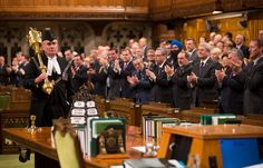 October - Ottawa Shooting The gunman was halted by Sergeant-at-Arms Kevin Vickers.