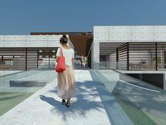 Ideas de #Recibidor, estilo #Moderno color  #Marron,  #Gris,  #Gris, diseñado por Alberto Lorenzo  #CajonDeIdeas