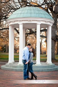 UNC campus Engagement shoot http://www.windypeakphotography.com/blog