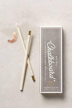 White Colored Pencils