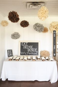 Seating chart display // photo by Aaron Snow | VIA #WEDDINGPINS.NET