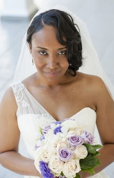 Lotonia swapped her Philly police uniform for this stunning #OlegCassini dress http://brownsparrowwedding.com/?p=9802&preview=true&utm_content=buffere02ca&utm_medium=social&utm_source=pinterest.com&utm_campaign=buffer Sheronda Seawright