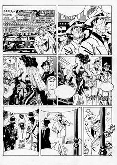 Torpedo page by Jordi Bernet by Jordi Bernet - Illustration