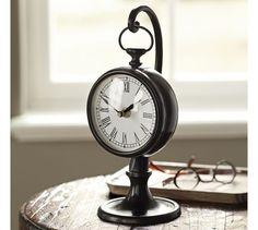 Pendant Clock, Dark Bronze finish