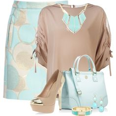 Untitled #322 by twinkle0088 on Polyvore featuring мода, Chloé, Dorothy Perkins, Tory Burch, Kate Spade, BaubleBar and pastels