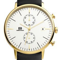 Danish Design watch by Danish Design. Available at Dezeen Watch Store: www.dezeenwatchstore.com #watches