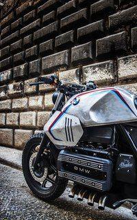 BMW K100 'Silver Gills' by Shaka Garage