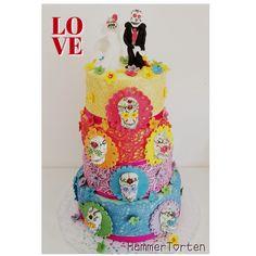Candyskull Cake