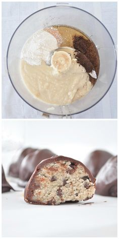 All you need is 6 simple ingredients to make these Paleo Cookie Dough Truffles. This healthy dessert recipe is also vegan and gluten free.