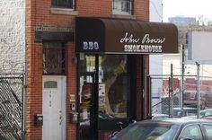 Located in a working-class corner of Long Island City, John Brown Smokehouse has only been open since August but has quickly risen to be. Fork In The Road, Manhattan Skyline, East River, Long Island City, I Love Ny, Smokehouse, The Neighbourhood, Bbq, Brown