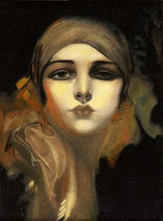 Howard Connolly. Flower of the Orient Study (after Rolf Armstrong's Flower of the Orient). c.1930s