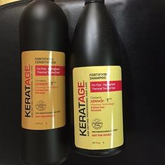 Keratage Shine Booster Shampoo and Conditioner Duo (34 fl oz) by Keratage *** Check out the image by visiting the link.