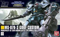 HGUC MS-07B-3 Gouf Custom