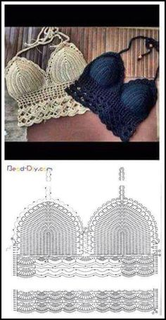 Μοτίβα για να πλέξεις το δικό σου crochet μαγιό..   Δείτε και εδώ:  70 ΥΠΕΡΟΧΑ ΠΛΕΚΤΑ ΜΑΓΙΟ ΜΕ ΒΕΛΟΝΑΚΙ