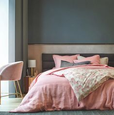 Linge de lit en lin made in France : il existe !- Clem Around The Corner Around The Corner, Most Beautiful Pictures, Indoor, Interior Design, Furniture, Home Decor, France, Small Bedrooms, Blog