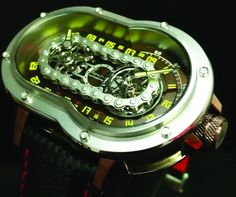 Bikers Will Appreciate The Cool Azimuth SP-1 Crazy Rider Watch #watch #azimuthsp1 #riderwatch http://luxatic.com/bikers-will-appreciate-the-cool-azimuth-sp-1-crazy-rider-watch/
