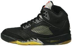 Air Jordan V - Black/Black/Metallic silver (1990 - Retired)    My 1st pair.