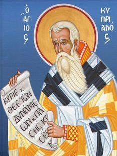 Αγιος κυπριανος Holidays And Events, Prayers, Spirituality, Bible, Faith, Blog, Fictional Characters, Chur, Icons