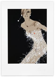 David Downton, 100 Years, 2008. Limited Edition FIG Print. Signed and numbered by the artist. Price subject to currency exchange rate at the time of ordering. $500.00.