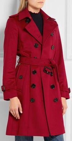 'The Sandringham' Wool Trench Coat