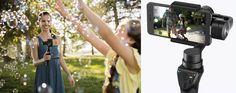 DJI Launches $299 Smartphone Camera Stabilization Gimbal 'Osmo Mobile' - https://www.aivanet.com/2016/09/dji-launches-299-smartphone-camera-stabilization-gimbal-osmo-mobile/