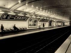 Métro @Paris