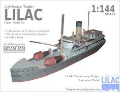 [USA] buoy tender lilac 1933