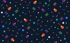 Download wallpapers 4k, geometric figures, art, abstract texture, geometry, creative