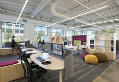Gensler has designed the new office and showroom for furniture dealer Pivot Interiors located in Santa Clara, California.