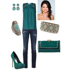 More Teal, created by amyjoyful1.polyvore.com
