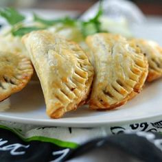 These easy to make beef empanadas use frozen pie pastry dough for the crust.