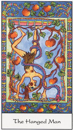 XII. The Hanged Man - Tarot of the Trance by Eva Marie Nitsche .