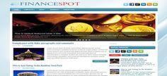 FinanceSpot Blogger Template