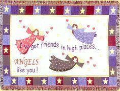 Angel Blanket Afghan