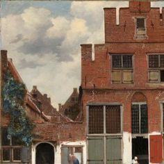 View of Houses in Delft, Known as The Little Street, Johannes Vermeer, c. 1658 - Rijksmuseum
